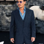 Johnny Depp Dark Blue 3 Piece Designer Wedding Suit