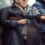 Jonah Hill War Dogs Black Real Cowhide Leather Coat