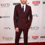 Tom Hiddleston Maroon 2 Piece Double Breasted Suit