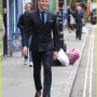 Tom Hiddleston seen out in London