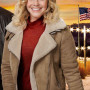 Eloise Mumford A Veteran's Christmas Suede Leather Jacket