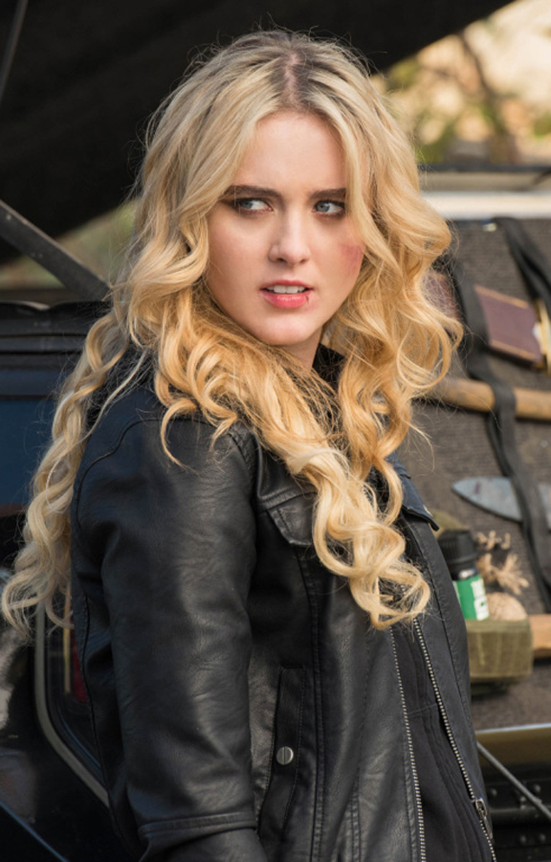 Kathryn Newton Real Cowhide Leather Jacket | Trendy Leather