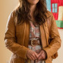 Reese Witherspoon Real Cowhide Leather Jacket