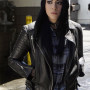 Chloe Bennet Agents Of S H I E L D Real Sheep Skin Leather Jacket