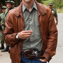 Boyd Holbrook Narcos Real Cowhide Leather Jacket