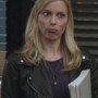 Gillian Jacobs Community Real Sheep Skin Leather Jacket