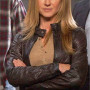 Holly Hunter Real Sheep Skin Leather Jacket 3