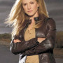 Holly Hunter Real Sheep Skin Leather Jacket
