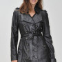 Julia Restoin Roitfeld Real Sheep Skin Leather Jacket 3