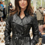 Julia Restoin Roitfeld Real Sheep Skin Leather Jacket