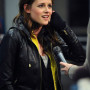 Kristen Stewart Black Real Sheep Skin Leather Jacket