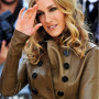 Sarah Jessica Parker Real Cowhide Leather Jacket 3