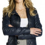Zoie Palmer Lost Girl Real Cowhide Leather Jacket