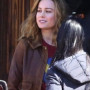 Brie Larson Captain Marvel Real Cowhide Leather Jacket