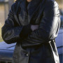 Barry Pepper Real Sheep Skin Leather Jacket
