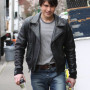 Logan Huffman Real Cowhide Leather Jacket