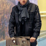 Simon Pegg Mission Impossible Real Sheep Skin Leather Jacket