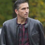 Jim Caviezel The Person Of Interest Real Cowhide Leather Jacket