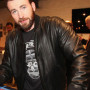 Chris Evans Avengers Age Of Ultron Real Sheep Skin Leather Jacket