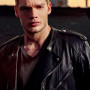 Dominic Sherwood Shadowhunters Real Sheep Skin Leather Jacket 3
