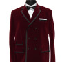 Maroon Piping DB Coat 01 copy