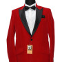 Red One Button Tuxedo Coat 001 copy